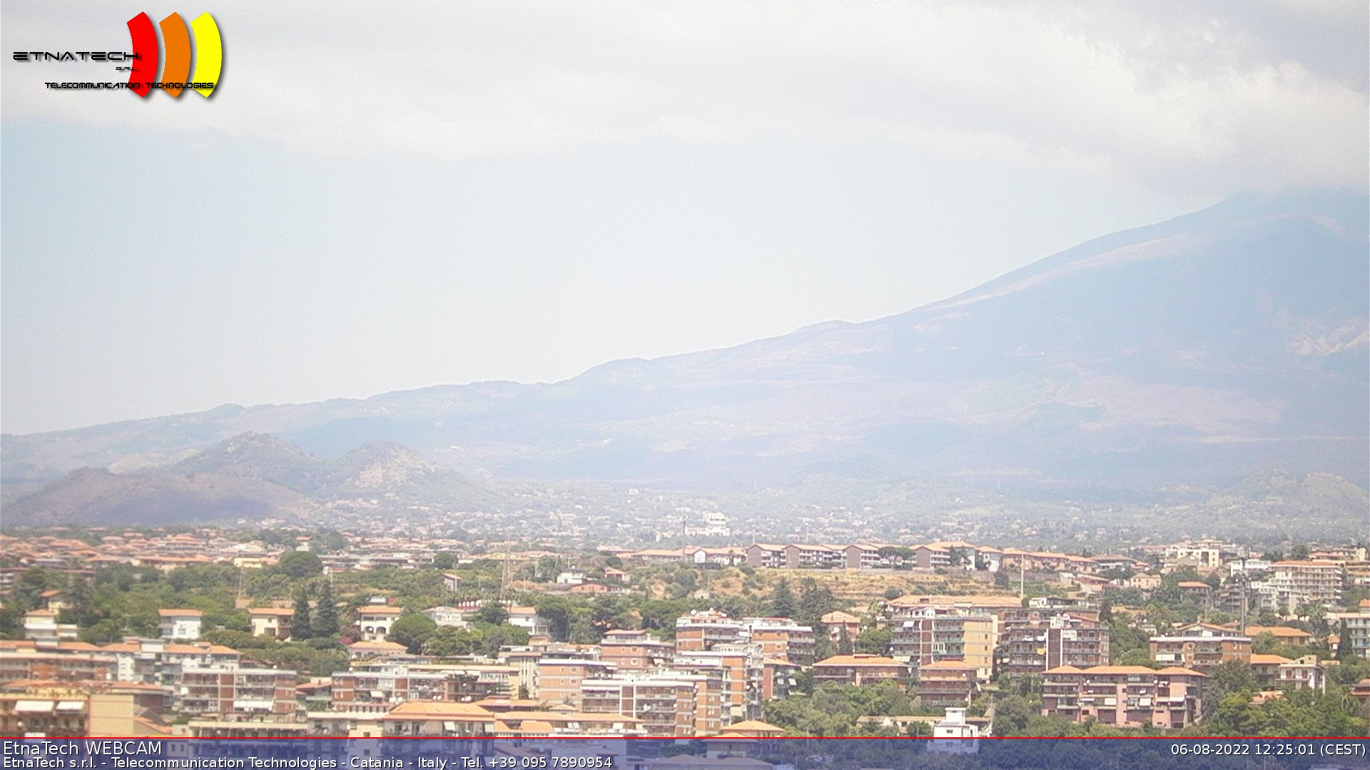 Webcam Etna Riposto