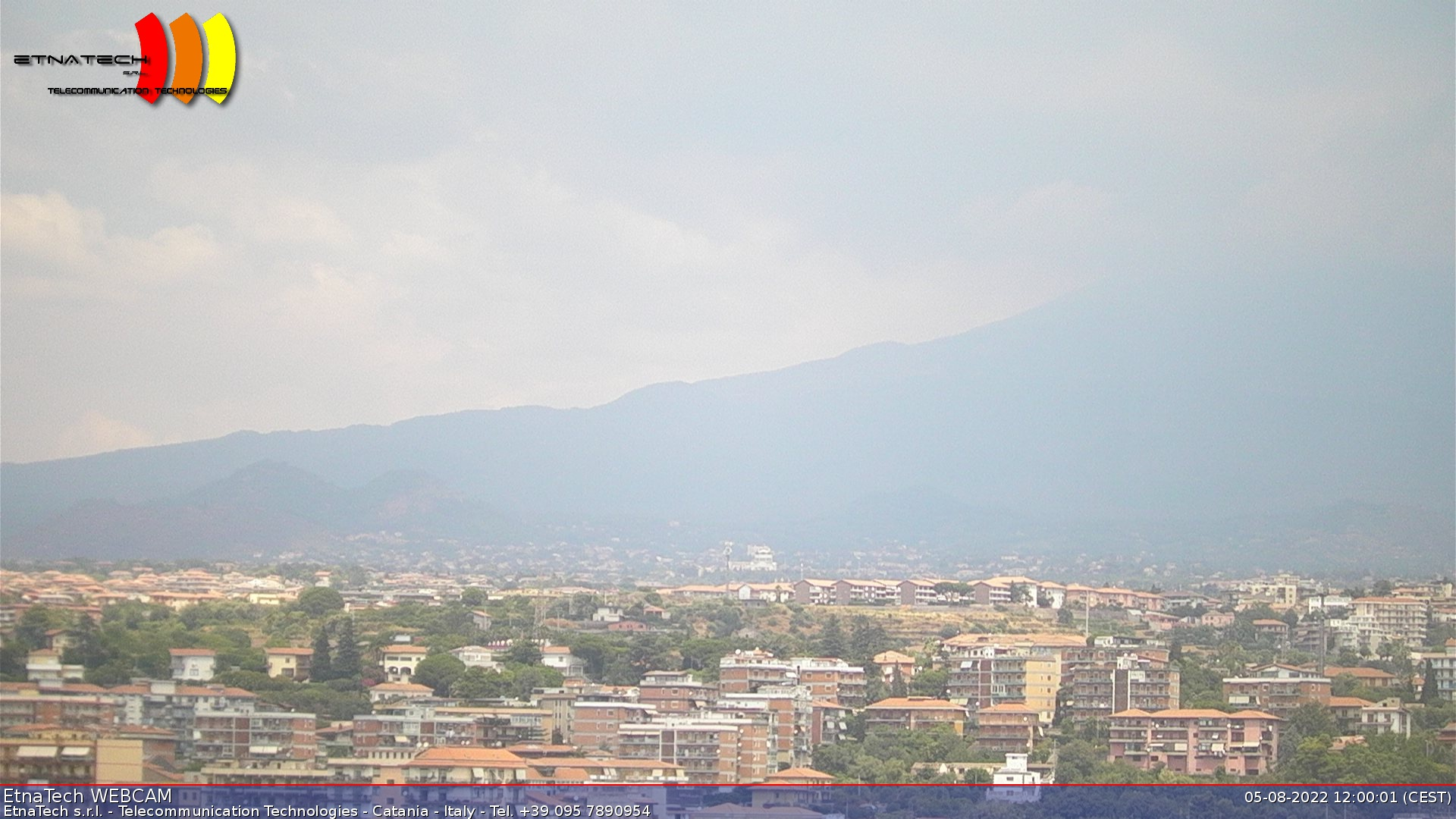 Webcam Etna sud